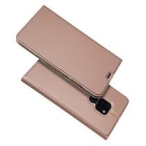 Booktype Hoesje Huawei Mate 20 - Roze / Goud