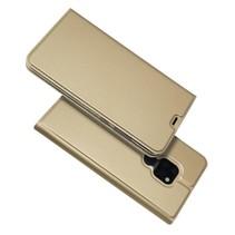 Booktype Hoesje Huawei Mate 20 - Goud