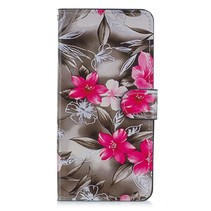 Bloemen Booktype Hoesje Huawei Mate 20