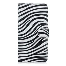 Zebra Booktype Hoesje Huawei Mate 20