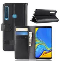 Booktype Hoesje Samsung Galaxy A9 (2018) - Zwart