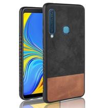 Hybrid Hoesje Samsung Galaxy A9 (2018) - Zwart