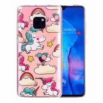 Eenhoorn TPU Hoesje Huawei Mate 20