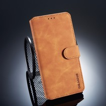 Dg.Ming Booktype Hoesje Huawei Mate 20 - Bruin
