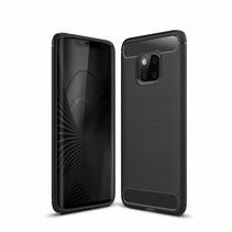 TPU Hoesje Huawei Mate 20 Pro - Zwart