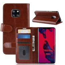 Booktype Hoesje Huawei Mate 20 Pro - Bruin