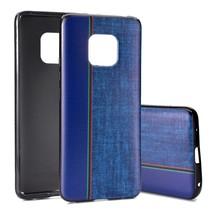 Jeans TPU Hoesje Huawei Mate 20 Pro - Blauw