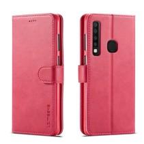 Lc.Imeeke Booktype Hoesje Samsung Galaxy A9 (2018) - Roze