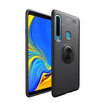 Lenuo TPU Hoesje Samsung Galaxy A9 (2018) - Zwart