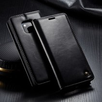 Caseme Booktype Hoesje Huawei Mate 20 Pro - Zwart