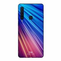 Nxe Hybrid Hoesje Samsung Galaxy A9 (2018) - Blauw / Paars