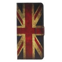 Britse Vlag Booktype Hoesje Samsung Galaxy A9 (2018)