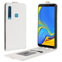 Flipcase Hoesje Samsung Galaxy A9 (2018) - Wit