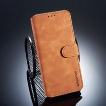 Dg.Ming Booktype Hoesje Huawei Mate 20 Pro - Bruin