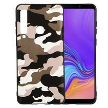 Camouflage TPU Hoesje Samsung Galaxy A9 (2018) - Wit