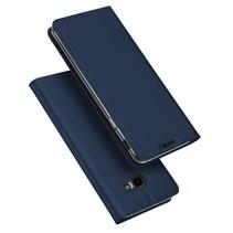 Dux Ducis Booktype Hoesje Samsung Galaxy J4 Plus - Donker Blauw