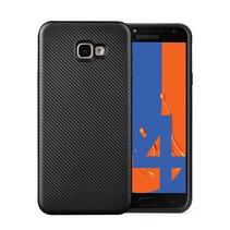 TPU Hoesje Samsung Galaxy J4 Plus - Zwart