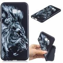 Leeuw TPU Hoesje Samsung Galaxy J4 Plus