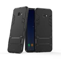 Hybrid Hoesje Samsung Galaxy J4 Plus - Zwart