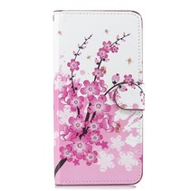 Bloemen Booktype Hoesje Huawei Nova 3