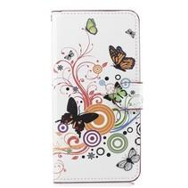 Vlinder en Cirkels Booktype Hoesje Huawei Nova 3