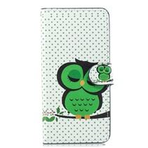Groene Uil Booktype Hoesje Huawei Nova 3