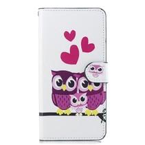 Uil Familie Booktype Hoesje Huawei Nova 3