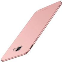 Mofi Hardcase Hoesje Samsung Galaxy J4 Plus - Roze / Goud