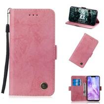 Booktype Hoesje Huawei Nova 3 - Roze