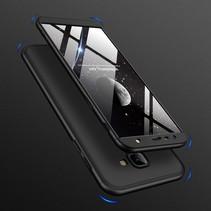 Gkk Hardcase Hoesje Samsung Galaxy J4 Plus - Zwart