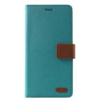 Roar Korea Booktype Hoesje Samsung Galaxy J4 Plus - Groen
