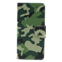 Camouflage Booktype Hoesje Samsung Galaxy J4 Plus