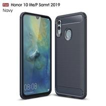 TPU Hoesje Huawei P Smart 2019 - Donker Blauw