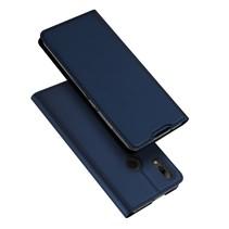 Dux Ducis Booktype Hoesje Huawei P Smart 2019 - Donker Blauw