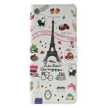 Eiffeltoren Booktype Hoesje Samsung Galaxy J4 Plus