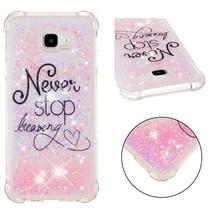 Never Stop Dreaming TPU Hoesje Samsung Galaxy J4 Plus