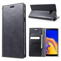 Mercury Goospery Booktype Hoesje Samsung Galaxy J4 Plus - Donker Blauw