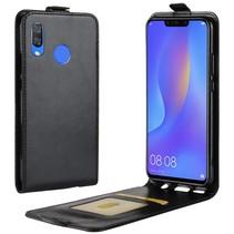 Flipcase Hoesje Huawei P Smart Plus - Zwart