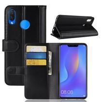 Booktype Hoesje Huawei P Smart Plus - Zwart
