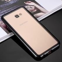Hardcase Hoesje Samsung Galaxy J4 Plus - Zwart