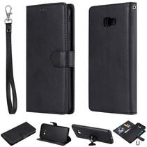 Booktype Hoesje Samsung Galaxy J4 Plus - Zwart