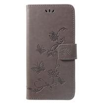 Booktype Hoesje Huawei P Smart Plus - Grijs