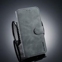 Booktype Hoesje Samsung Galaxy J4 Plus - Grijs