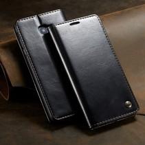 Caseme Booktype Hoesje Samsung Galaxy J4 Plus - Zwart