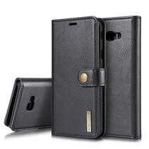Dg.Ming Booktype Hoesje Samsung Galaxy J4 Plus - Zwart