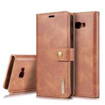 Dg.Ming Booktype Hoesje Samsung Galaxy J4 Plus - Bruin