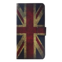 Britse Vlag Booktype Hoesje Huawei P Smart Plus
