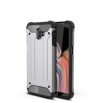 Hybrid Hoesje Samsung Galaxy J6 Plus - Grijs