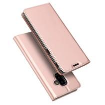 Dux Ducis Booktype Hoesje Samsung Galaxy J6 Plus - Roze / Goud