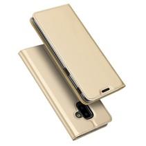 Dux Ducis Booktype Hoesje Samsung Galaxy J6 Plus - Goud